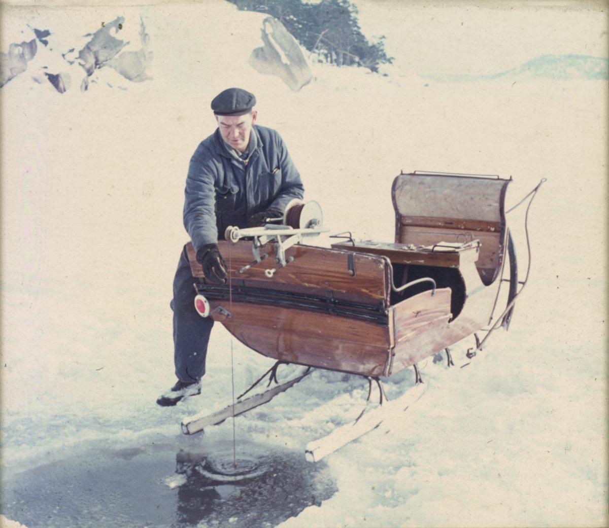 """Gunnar Vikström, in """"Seili, Saaristomeren Tutkimusta 50 Vuotta, Turun Yliopisto"""". The early years of the time series research in Seili."""