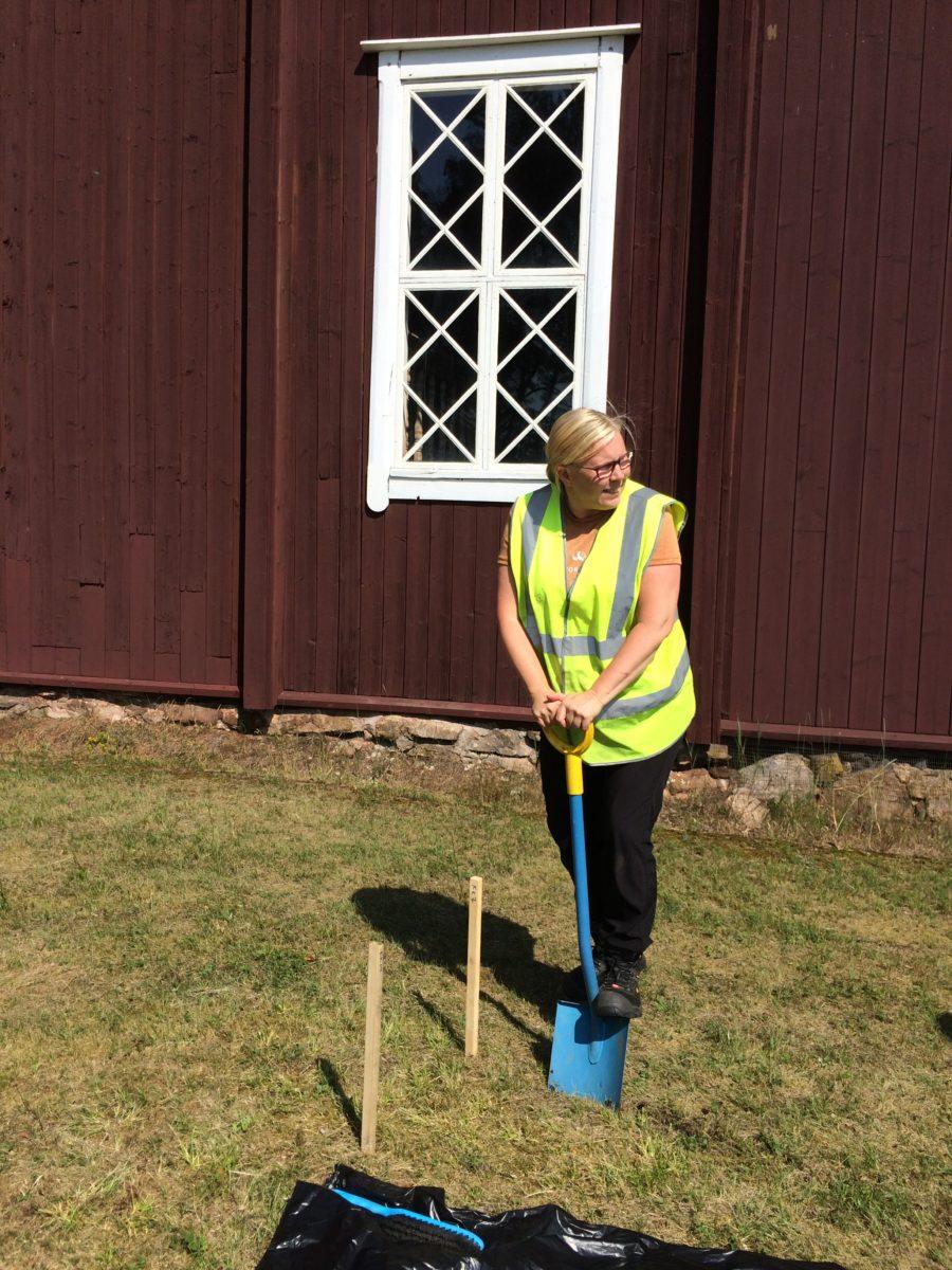 Archeologist Mia Lempiäinen-Avci. Photos Taru Elfving.