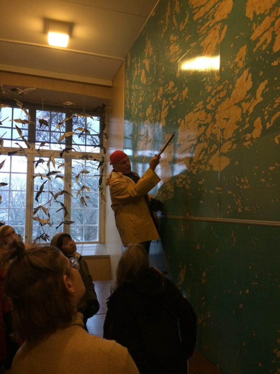 Professor Emeritus Ilppo Vuorinen in action. All photos Taru Elfving.